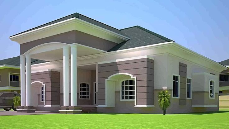 4 Bedroom House Design In Ghana 4 Bedroom House Designs Bedroom House Plans House Design Pictures