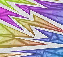 Voxel Triangles - CS:GO Skin (Rainbow Phase) by Zurex