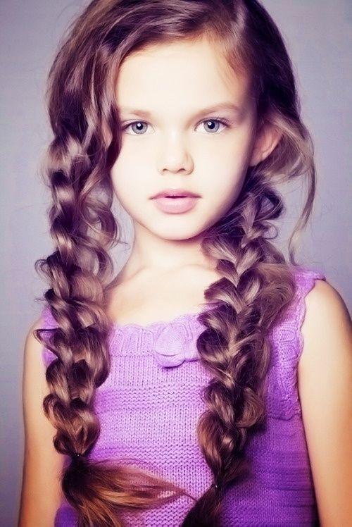 Tremendous 1000 Ideas About Little Girl Hairstyles On Pinterest Girl Short Hairstyles For Black Women Fulllsitofus