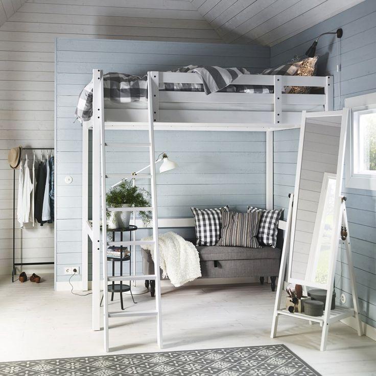 Hochbett ikea tromsö  Die besten 25+ Hochbett 140x200 Ideen auf Pinterest | Ikea ...