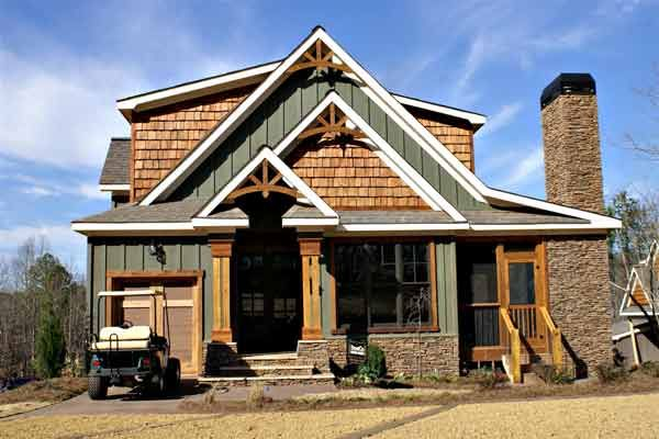 Exterior house pictures house plans home and craftsman for Rustic style homes