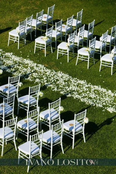 Outdoor ceremony in Apulian Masseria www.italianseasidewedding.com