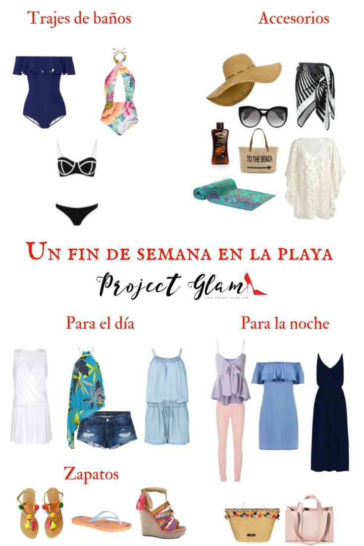 Qué llevar para un fin de semana en la playa — Project Glam #traveloutfits