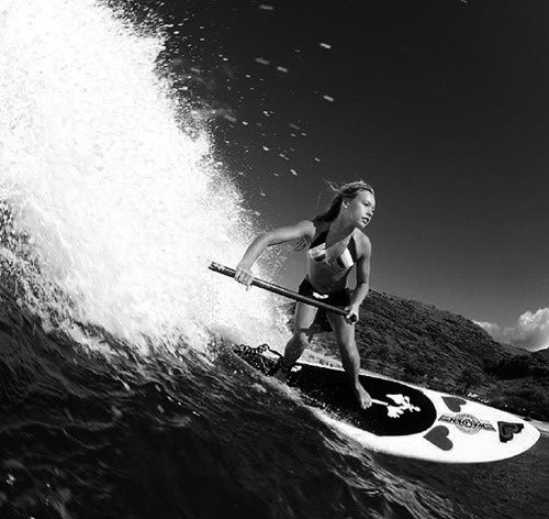 SUP surf...
