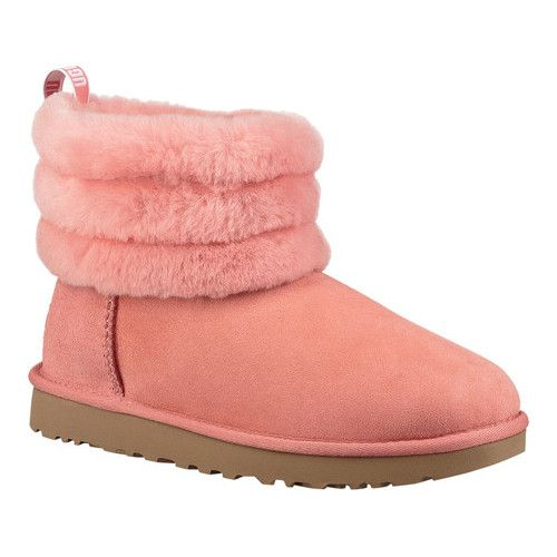Women's UGG Fluff Mini Quilted Bootie