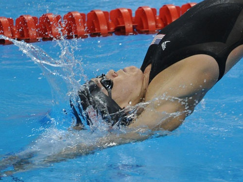 Natalie Coughlin, Swimmer (USA)  California girl Coughlin, 29, is an 11-time Olympic medalist and two gold medals shy of being the most decorated female U.S. Olympian in history.