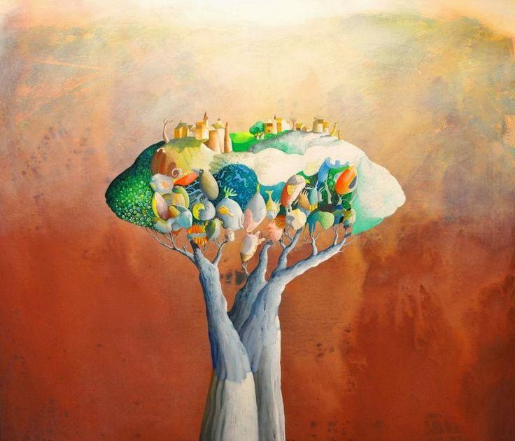 Pinzellades al món: Les il·lustracions de Silvano Braido: mons imaginaris, éssers fantàstics