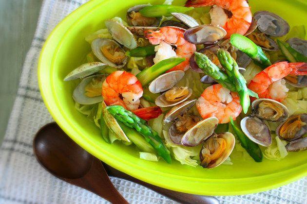 【レンジで3分半】「温野菜サラダ」を水っぽくさせないコツって? | くらしのアンテナ | レシピブログ