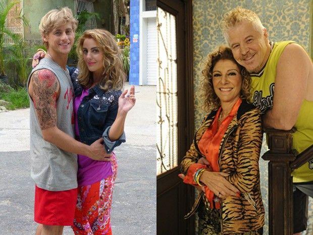 Ruço e Darlene ontem e hoje #PeNaCova | TV Globo