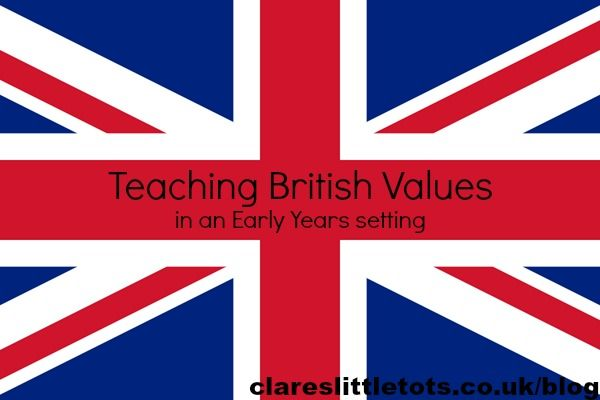Teaching British values in early years settings. Childminder help. British Values posters for your setting.