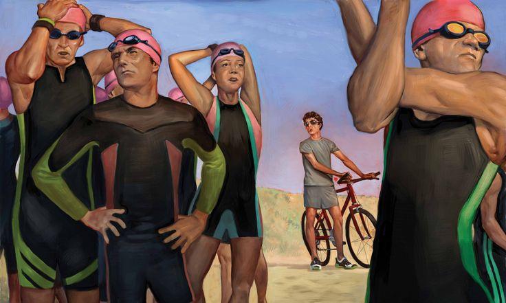Funny Article about Tri Transitions. Triathlon Advice For Beginners From Jesse Thomas - Triathlete.com http://triathlon.competitor.com/2014/03/training/triathlon-advice-beginner