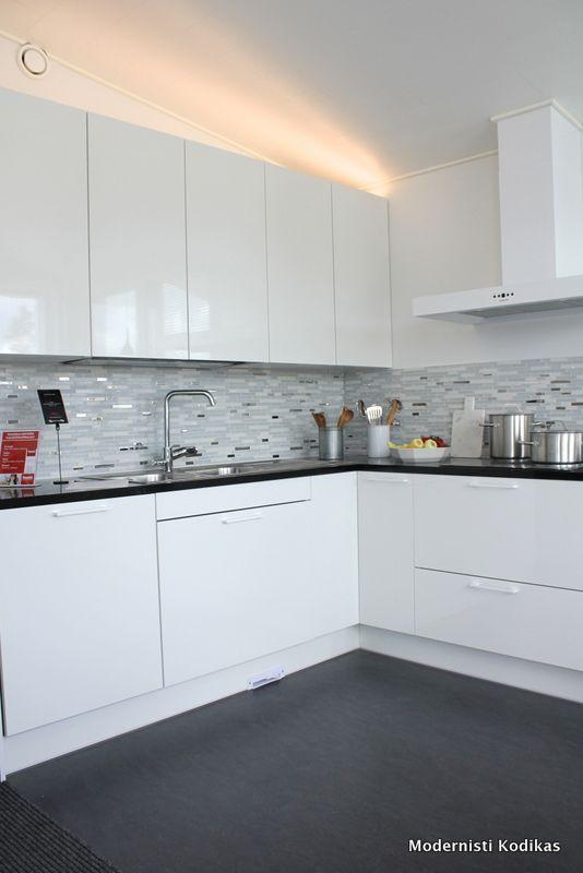 Asuntomessut 2013: keittiöitä - Modernisti kodikas