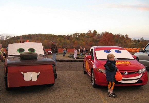 188 best Halloween images on Pinterest Halloween decorations - decorate your car for halloween