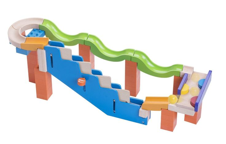 Wonderworld - Trix Track Marble Run Up Stairs Track - great fun for younger children #EntropyWishList #PinToWin