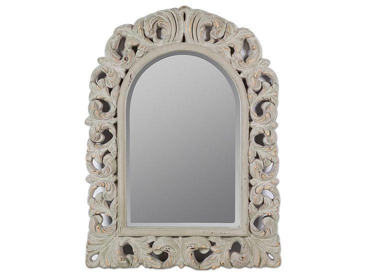 Espejo barroco envejecido forma ventana