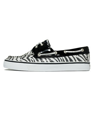 Take a walk on wild side in zebra print topsiders Sperry Top-Sider Womens Shoes BUY NOW!