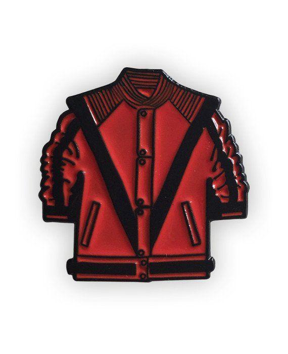 Michael Jackson Thriller Enamel Pin!
