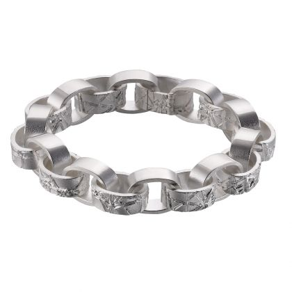 ENCORE Chain Bracelet / Design: Christophe Burger / Lapponia Jewelry / Handmade in Helsinki