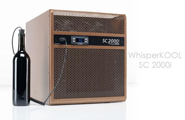 WhisperKOOL SC 2000i wine cooling unit.