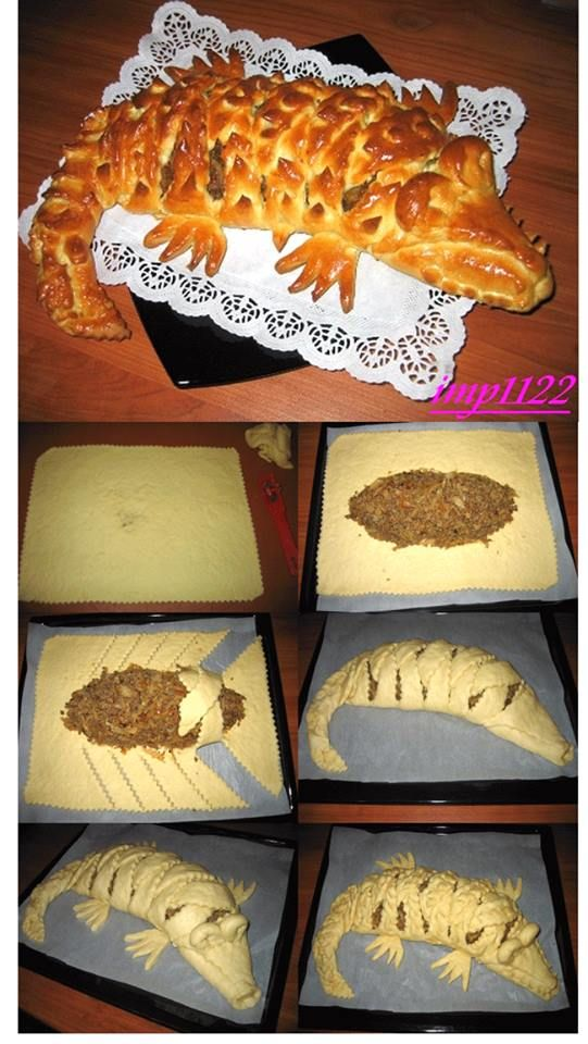 Alligator Pastry http://nnm.me/blogs/imp1122/_myasnoj_pirog_krokodil/