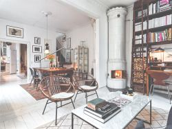 white vintage bedroom design Home architecture urban eat Interior house bathroom interiors loft decor kitchen living lifestyle modern apartment Wood industrial charming contemporary Sweden steel ECLECTIC tile dining Duplex urban industrial