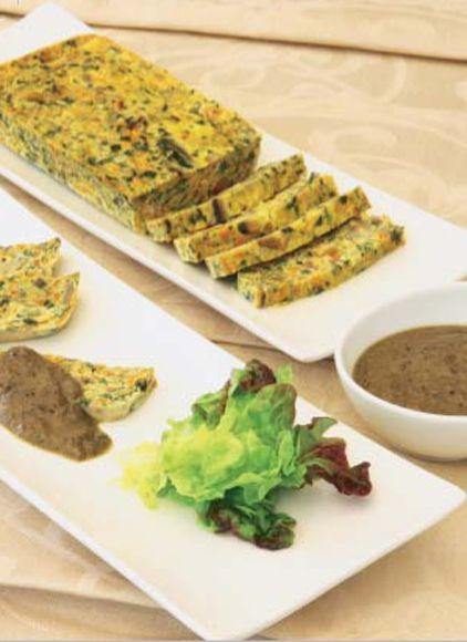 Terrina de verduras #cuisine #recipes