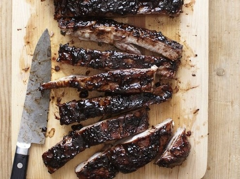 Sweet-and-Sour Balsamic-Glazed Spareribs from Vinny Dotolo and Jon ...