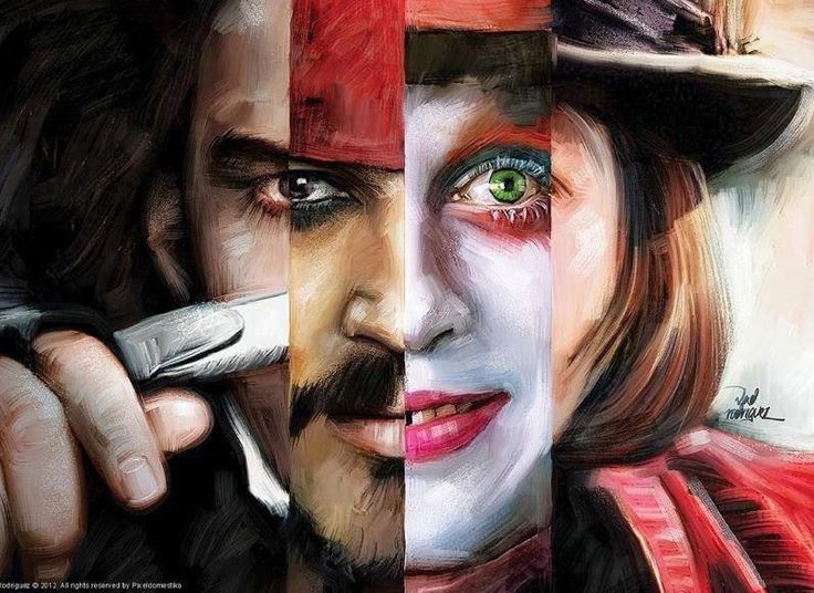 The awkward moment when you can't remember what Johnny Depp really looks like.
