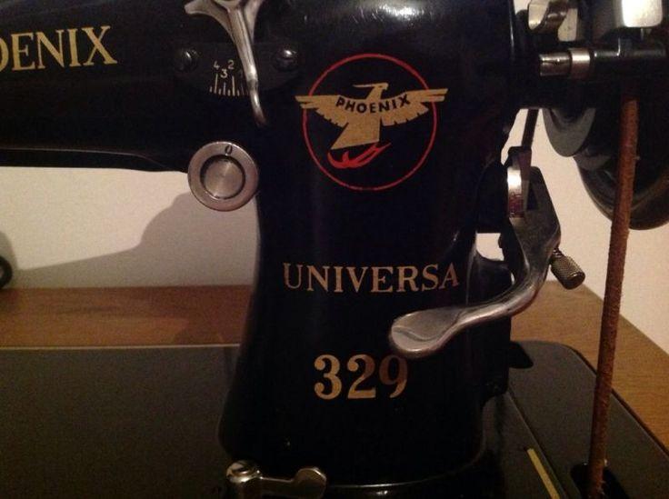 Eine alte / Antike Nähmaschine von Phönix Phönix Universa 329,Nähmaschine (alt) Phoenix  Universa 329 in Schleswig-Holstein - Wentorf