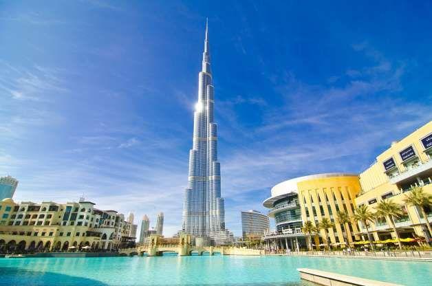 Dubai Burj Khalifa Burj Khalifa Dubai Viajes A Dubai