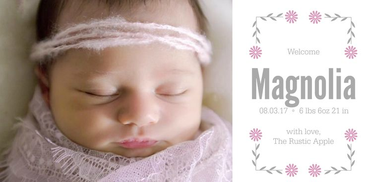 Magnolia's Nursery. Rustic baby girls nursery. Glam metallic pallet accent wall.