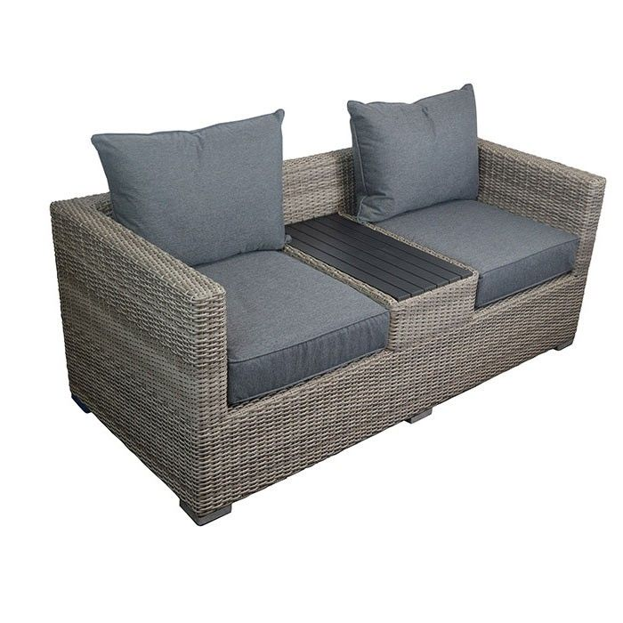 <p>Create a relaxing place in your favourite garden spot with this two seater Willow Love Seat. The centre table makes having a glass of wine with your favourite book easy this summer. Crafted from durable wicker that is weather resistant, this stylish garden set will look great on any balcony, patio or decking area.</p>