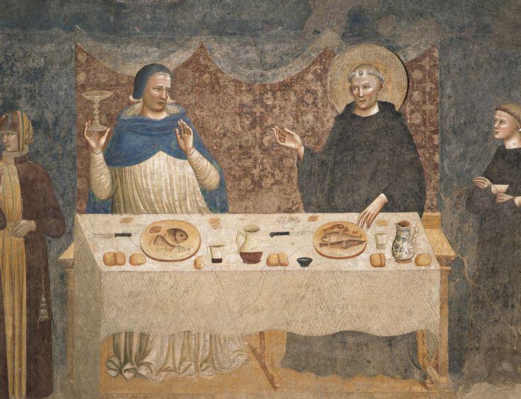 Пьетро да Римини. Росписи трапезной аббатства Помпоза (Феррара), 1316-1320  4