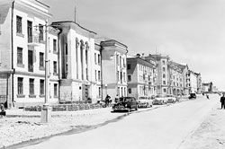 Караганда. Площадь Гагарина