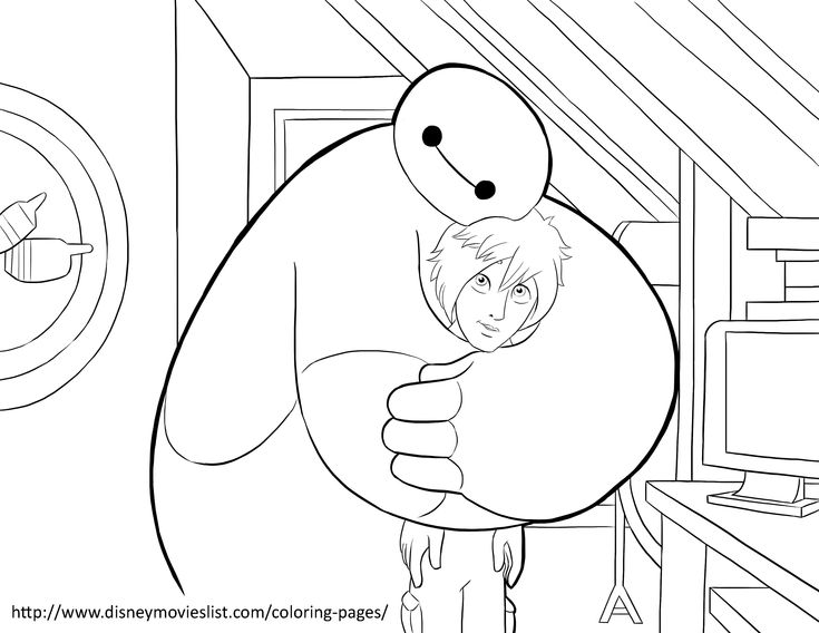 Big Hero 6 Coloring Pages Free Online Printable Sheets For Kids Get The Latest Images Favorite