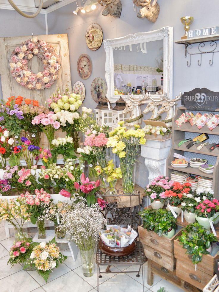 DIFIORI Virágszalon / Flower shop interior in Budapest