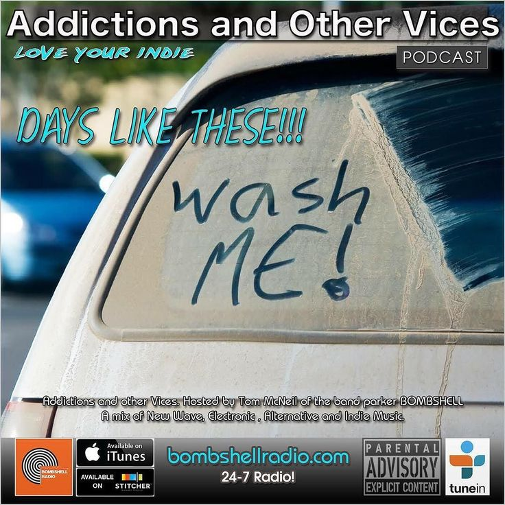 It's showtime! Tonight New Indie finds Bombshell Radio Track of the Day Submissions from the Addictions Inbox. A few favourites songs inspired by various movies I've seen this week. Plus we'll announce our Just Another Menace Radio Replay Artists and few other surprises. This is Addictions and Other Vices 382 - Days Like These!!! I hope you enjoy! 8pm-10pm EST  Repeats Wednesday and Thursday  If you want to keep up with Bombshell Radio join our FB feed. And be sure to subscribe on ITunes and…
