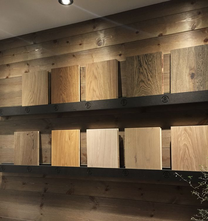 Skógr showroom Oslo Moelven wood