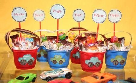 Fotos de souvenirs para fiestas infantiles: Kids Parties, Cars Boys, Boys Birthday, Birthday Parties Favors, Parties Ideas, Favors Ideas, Cars Birthday Parties, Birthday Favors, Birthday Ideas