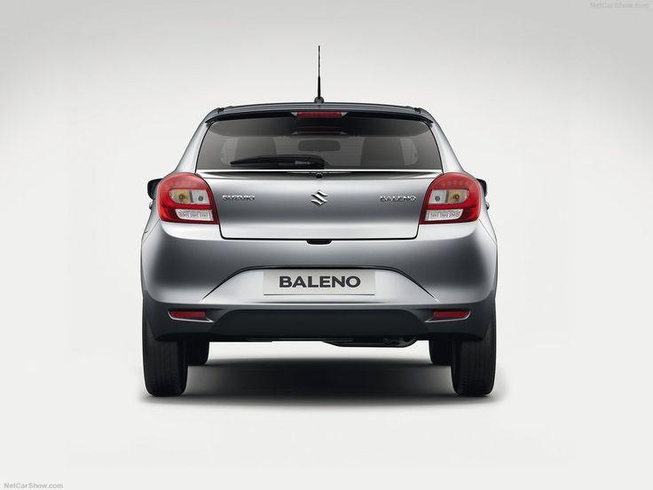 Suzuki Baleno, tył