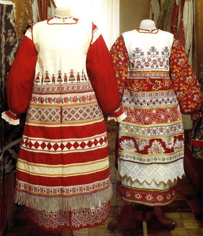 17 Best Images About Russian Folk Costume On Pinterest