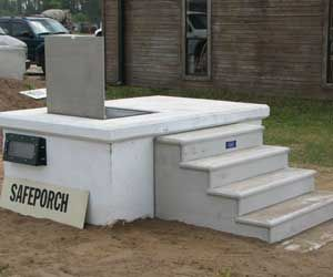 Storm Shelter | Bates Precast Safe Haven Storm Shelters