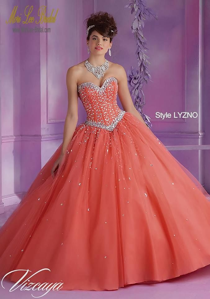 Style LYZNO Tulle Quinceanera Gown with Beading Bolero ...