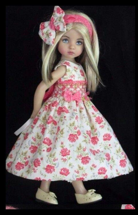 Effner little darling handmade dress set