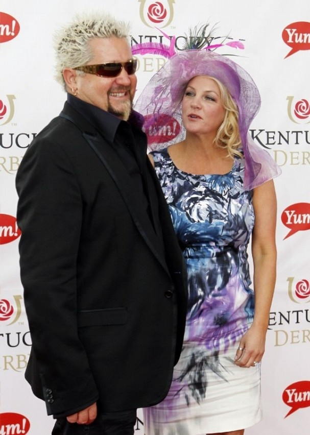 Guy Fiery with his wife Lori Fieri
