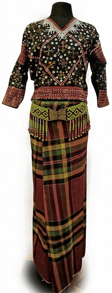 NATIVE costumes from Southern Philippines are known for their bold colors and ornate details.