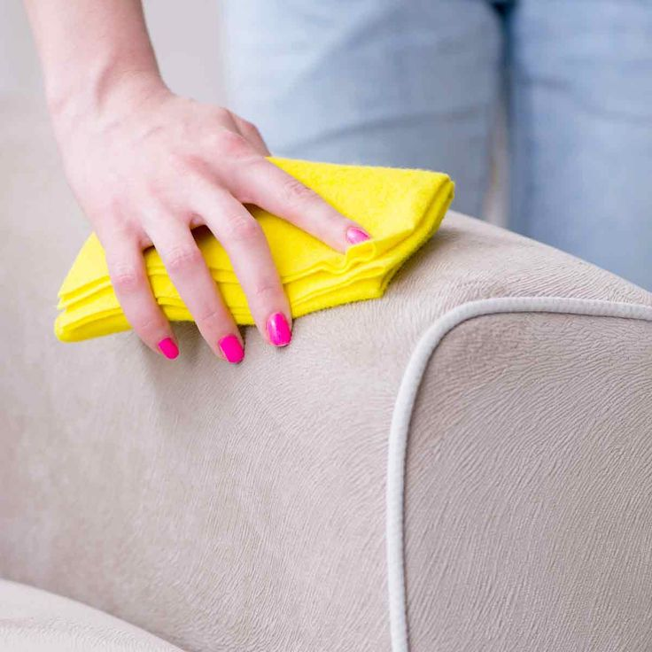How to Clean a Microfiber Couch with a One Ingredient