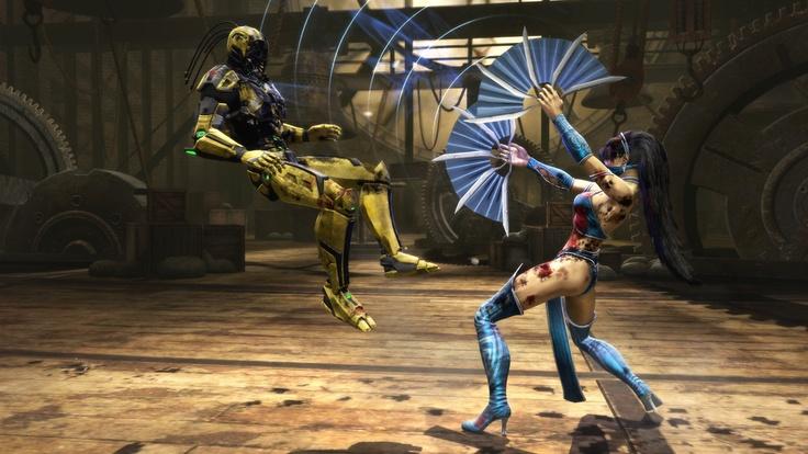 Kitana - Mortal Kombat. Absolutely freaking love her!
