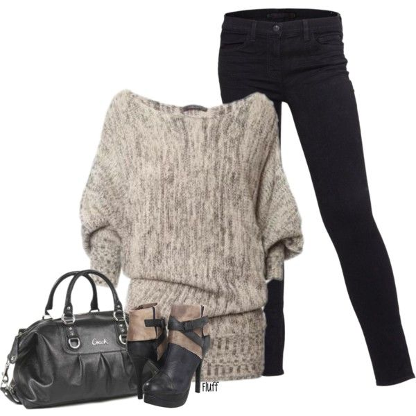OutfitFall Clothing, Casual Outfit, Clothing Shoes Accessories, Style, Chunky Sweaters, Winter Outfit, Sweaters Outfit, Fall Fashion, Dreams Closets