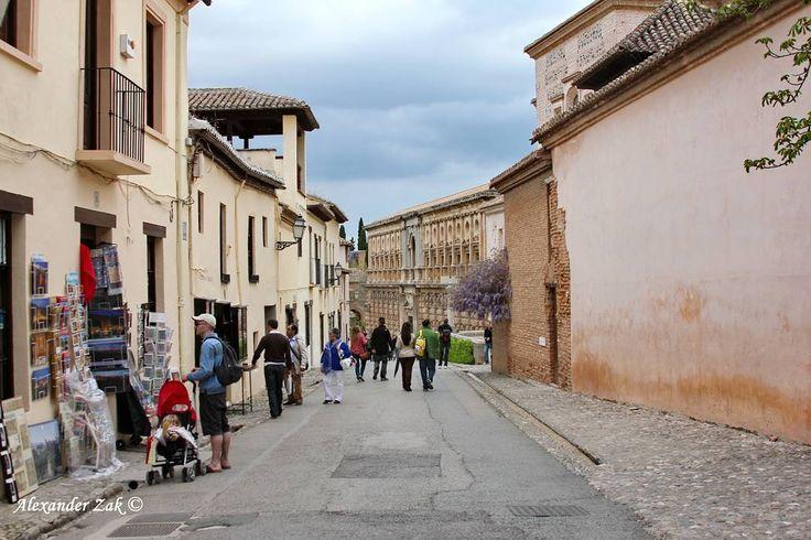 Альгамбра Гранада Испания Alhambra Granada Spain